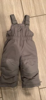 12 month snow pants almost new! in Yorkville, Illinois