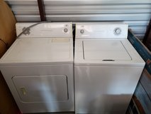 EState Whirlpool Washer and Dryer in Fort Leavenworth, Kansas