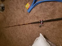 Shakespeare fishing pole in Fort Campbell, Kentucky