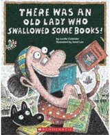 There Was an Old Lady Who Swallowed Some Books! in Okinawa, Japan