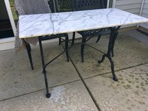 Marble top table in Westmont, Illinois