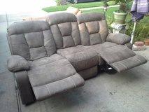 LA-Z-BOY, Double Recliner, Leather Sofa in The Woodlands, Texas