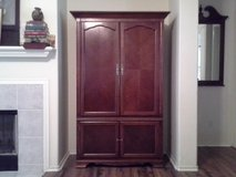 French Colonial, Entertainment Armoire in The Woodlands, Texas