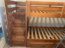 Bunk beds with drawers in Fort Leonard Wood, Missouri