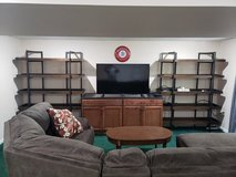 2x Ashley Starmore Bookcase (Solid Walnut) in Fort Leavenworth, Kansas