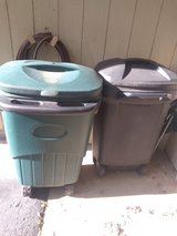 Trash cans in Joliet, Illinois