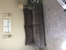 Brown couch in Fort Campbell, Kentucky