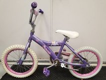 """Used Disney Princess Bike some wear but works well 12"""" Wheels in Glendale Heights, Illinois"""