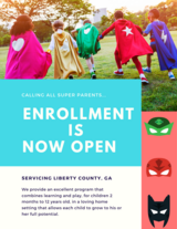 Superheroes Academy - Now Accepting Enrollments in Hinesville, Georgia