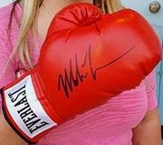 Mike Tyson Autographed Boxing Glove in Pasadena, Texas