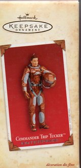 hallmark keepsake ornament commander trip tucker 2004 in Clarksville, Tennessee