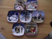 ROYAL DOULTON COLLECTOR PLATES --  7 CHRISTMAS PLATES -- 7 COUNTRIES in Yorkville, Illinois