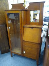 Antique Oak Secretary in Naperville, Illinois