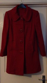 Red Dorothy Perkins coat. Size 14UK. Great condition. in Lakenheath, UK