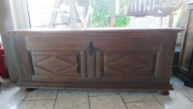 one of a kind  200 year old fire chest with original hard ware in Spangdahlem, Germany