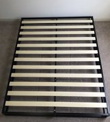 Queen size low-profile bed frame in The Woodlands, Texas
