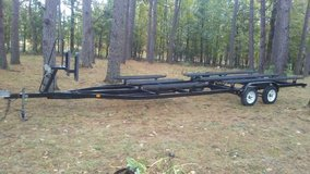Heavy duty pontoon boat trailer in Fort Leonard Wood, Missouri