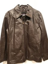 Brown Leather Jacket XL in Fort Benning, Georgia