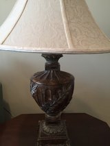 """Pair table lamps, 30"""" tall, widest part of shade 18"""" in Naperville, Illinois"""