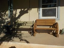 Pick a Bench!  Either one, $10 in Alamogordo, New Mexico