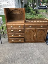 Handmade-Wood Changing table plus! in Galveston, Texas