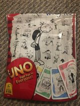 Uno Card Game - Diary of a Wimpy Kid Edition in Naperville, Illinois