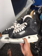 Bauer kids skates (size 3D) in Naperville, Illinois