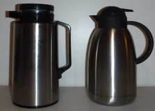 Stainless Thermique -OR- The Cellar Thermal Hot/Cold Coffee Pot / Beverage Carafe ~2L in Chicago, Illinois