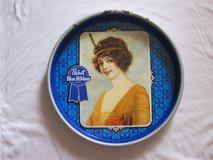 Metal Pabst Flapper Girl Bar Tray in Naperville, Illinois