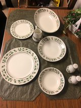 "Christmas China ""Holly Holiday"" - Limited Edition in Fort Campbell, Kentucky"