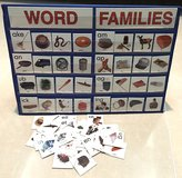 Lakeshore Word Family Cards Chart in Okinawa, Japan
