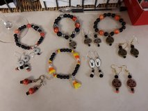 Halloween  or Fall bracelets & earrings in Westmont, Illinois