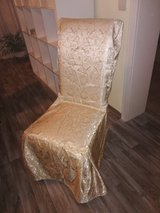 very pretty covers in gold for chair in Ramstein, Germany