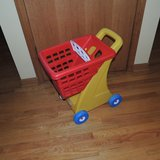 Little TIkes Pretend Play Grocery Shopping Cart in Morris, Illinois