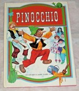 Vintage 1980 Pinocchio An Award Classic Fairy Tale Hard Cover Childrens Book in Morris, Illinois