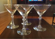 Vintage Martini Glasses in Joliet, Illinois