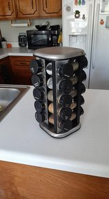 Kamenstein rotating spice rack in Clarksville, Tennessee