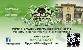 Full service remodeling co. in Spring, Texas