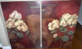 "Set of 2 LARGE Pamela Gladding ""Tuscan Summer"" Giclée Floral Art Prints - no Frame ~Ea is 2ft x 3'H in Orland Park, Illinois"
