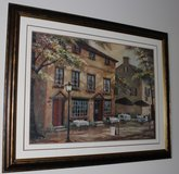 "Framed Painting Print ""Colleen's Pub"" in Clarksville, Tennessee"