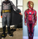 Batman & Iron Man Ch Size: Small (6/7) - Dress Up / Halloween Costumes in Joliet, Illinois