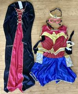 Child Size: Medium (7/8) - Princess & Wonder Woman Dress Up / Halloween Costume in Joliet, Illinois