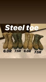 Steel toe BOOTS in Okinawa, Japan