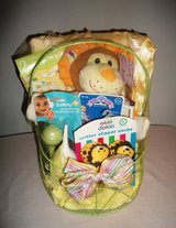 BABY'S FIRST MY TEDDY BEAR GIFT BASKET Very Full in Alamogordo, New Mexico
