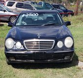 2002 MERCEDES E-320 in Spring, Texas