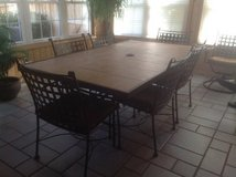 Outdoor table/chairs/side table in Chicago, Illinois