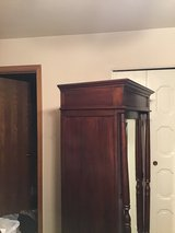 Antique Cabinet with Beveled Mirror.     Great Storage in Travis AFB, California