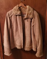 Wilson Leather - Suede Faux fur lined coat in Chicago, Illinois