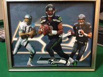 *** SEAHAWKS - Wilson, Hasselbeck & Zorn (#2) 8x10 framed Lithograph *** (NEW) in Fort Lewis, Washington