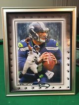 *** SEAHAWKS - Russell Wilson (print #1) 8x10 framed Lithograph *** (NEW) in Fort Lewis, Washington